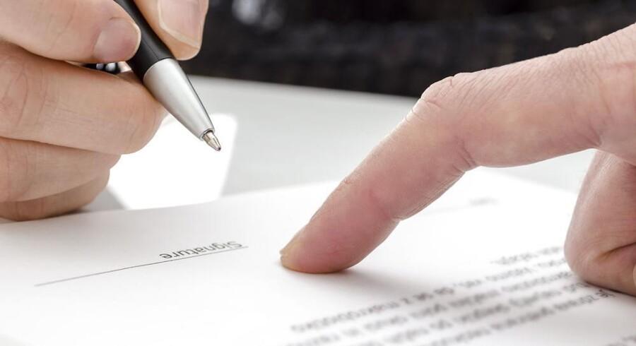 Undersøg alle muligheder inden en forhastet underskrift på for eksempel arveafkald - der kan være andre løsninger.