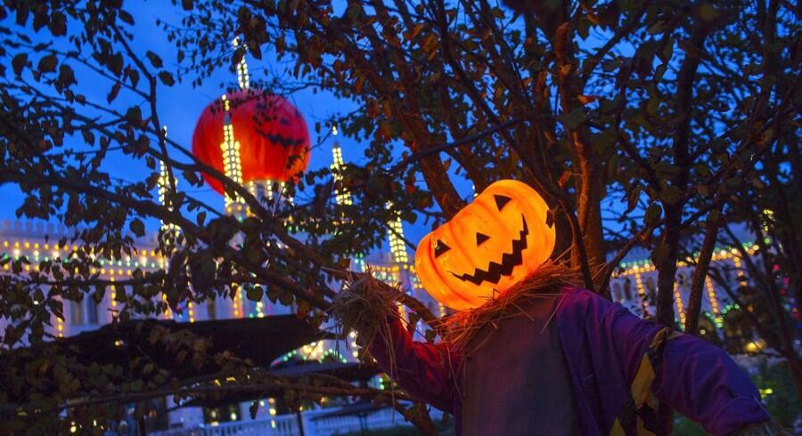 Halloween i Tivoli i 2014.