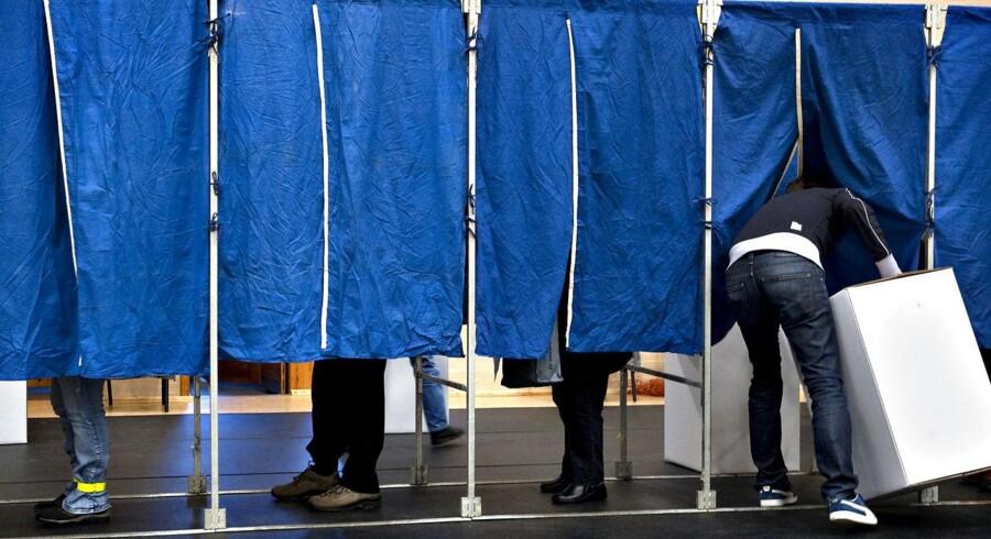 Med digitale valglister skulle køerne ved valgstederne blive kortere, fordi vælgerne kan bruge alle valgbordene i stedet for ét bestemt.
