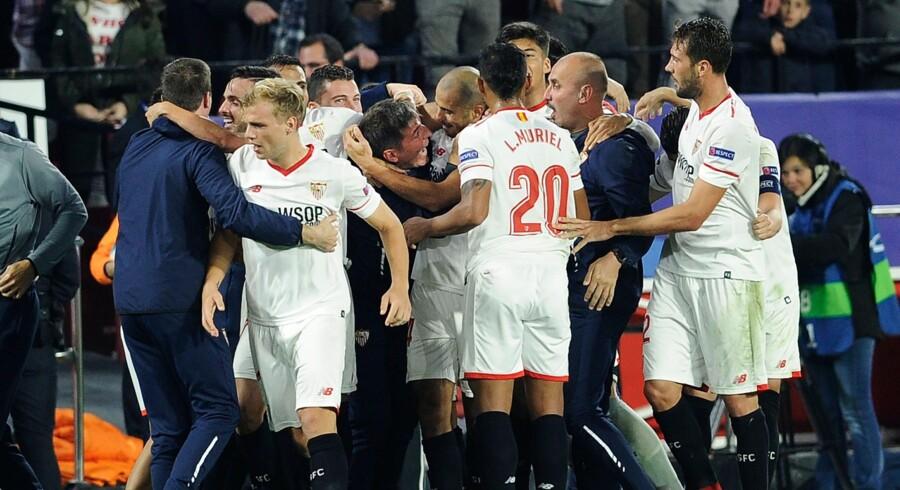Sevillas argentinske træner, Eduardo Berizzo, håber, at Liverpools kollaps vil give englænderne noget at bevise i den sidste gruppekamp.
