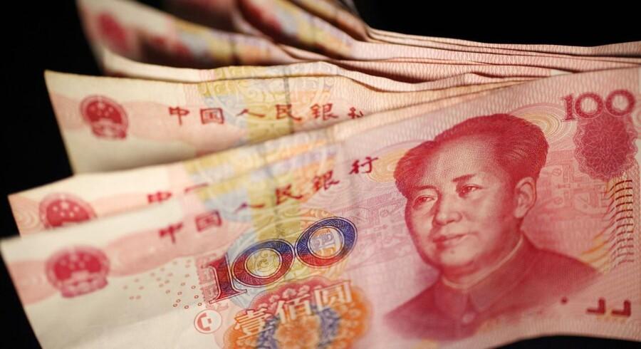 Kina står til at få udskudt optagelse i det pæne valuta selskab.