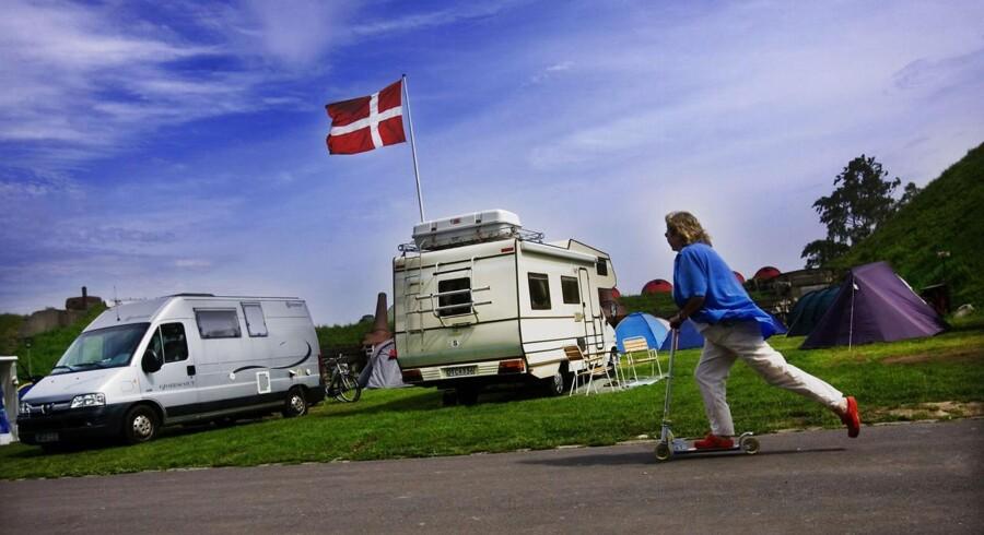 Det er især de danske campingpladser, der har haft størst succes med antallet af besøgende i juli måned.