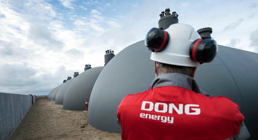 Hovedaktionæren i DONG, den danske stat, har besluttet sig få at gå fuldt ind i salget af aktier til DONGs børsnotering og udnytte sin allerede fastlagte ramme fuldt ud. Arkivfoto.