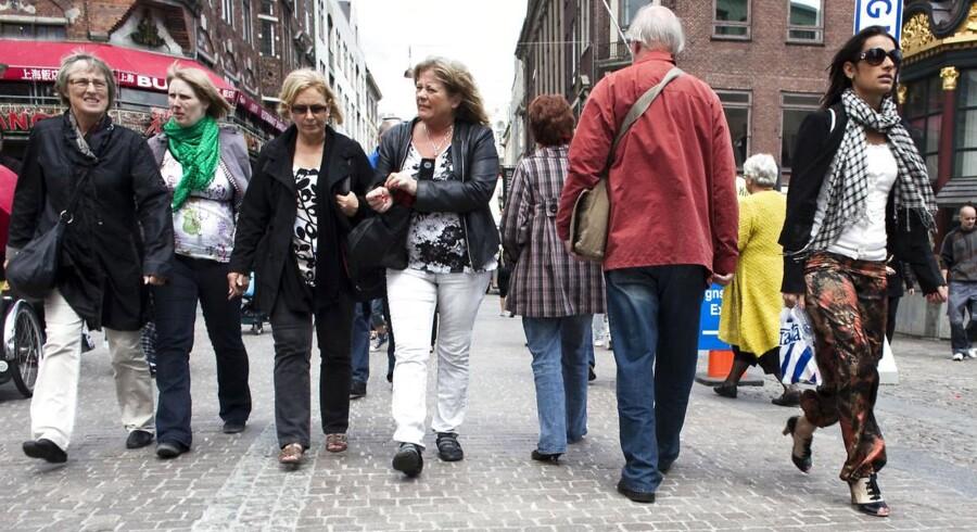 Shopping på Strøget.