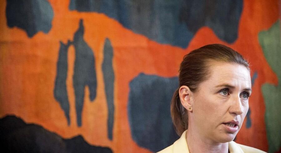 Justitsminister Mette Frederiksen.