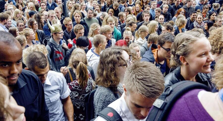 91.231 søgte i år ind på de videregående uddannelser, og rekordmange blev optaget.