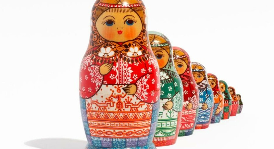 Ruslands aktiemarked kan sammenlignes med en babuskadukke, der først afslører, hvad hun indeholder, når hun bliver åbnet.