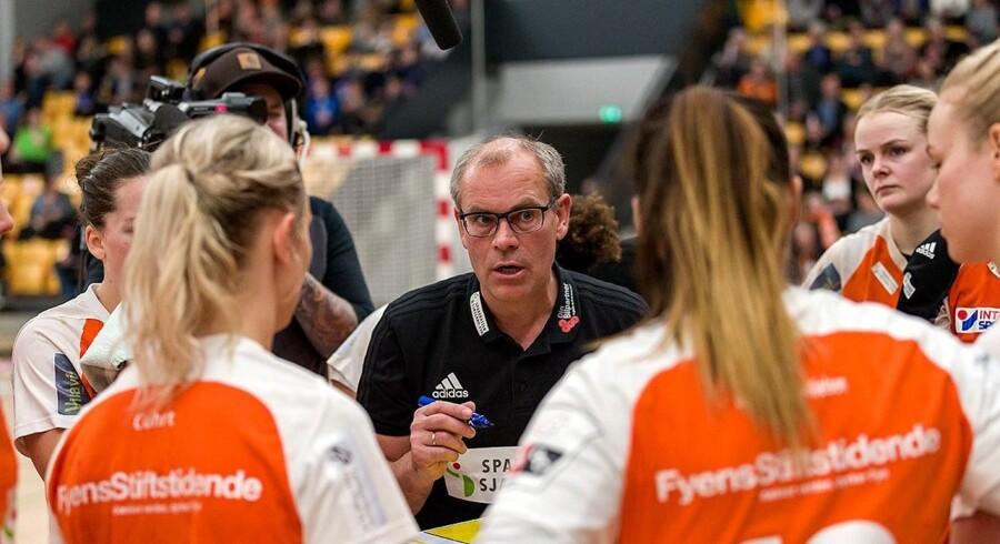 Odense-træner Jan Pytlick ser frem til de kommende kampe i slutspillet. Free/Torben Andresen