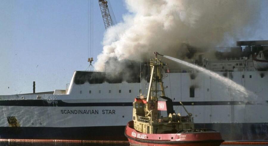 Flemming Thue Jensen hævder, at han ved, hvem der står bag mordbranden på Scandinavian Star i 1990, hvor 159 mistede livet. (Arkivfoto: CLAUS BJØRN LARSEN/Scanpix 2013)