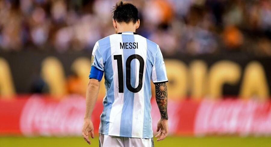 Lionel Messi idømmes 21 måneders fængsel for skattesvig