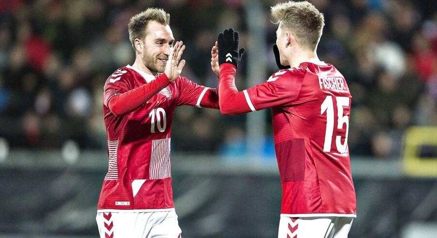 Danmark er sikret mindst to hjemmekampe, hvis vi kvalificerer os til EM-slutrunden om to år.