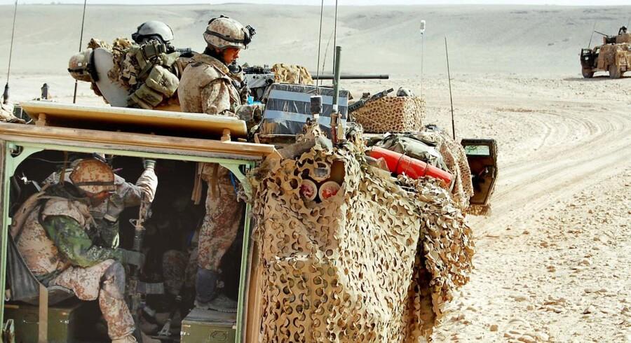 De danske soldater skal have nye køretøjer, og det kan kaste rigtig mange arbejdspladser af sig.