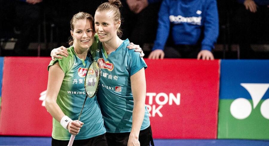 ARKIVFOTO 2015 Christinna Pedersen & Kamilla Rytter Juhl under Yonex Copenhagen Masters 2015