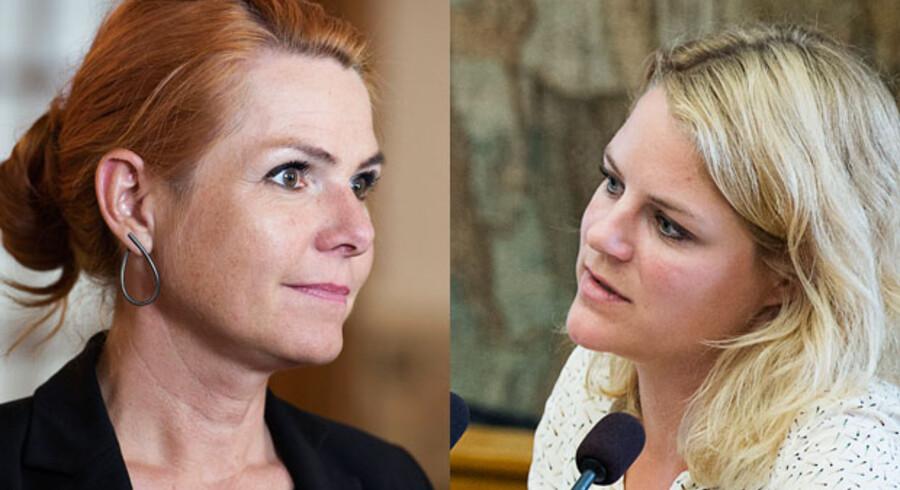 Udlændinge- og integrationsminister Inger Støjberg (V) bliver nu kaldt i samråd af Enhedslisten