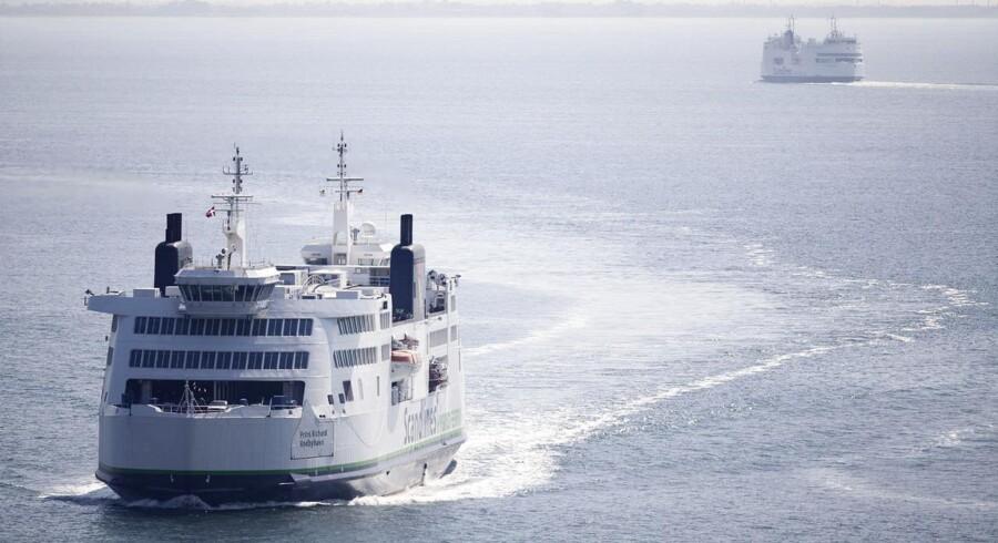 Scandlines-færger på Femern Bælt