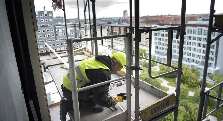 """Tivoli II ved Kalvebod Brygge .Hotellet åbner 1. juli og kommer til at ligge ved siden af """"søsteren"""" Tivoli Hotel"""