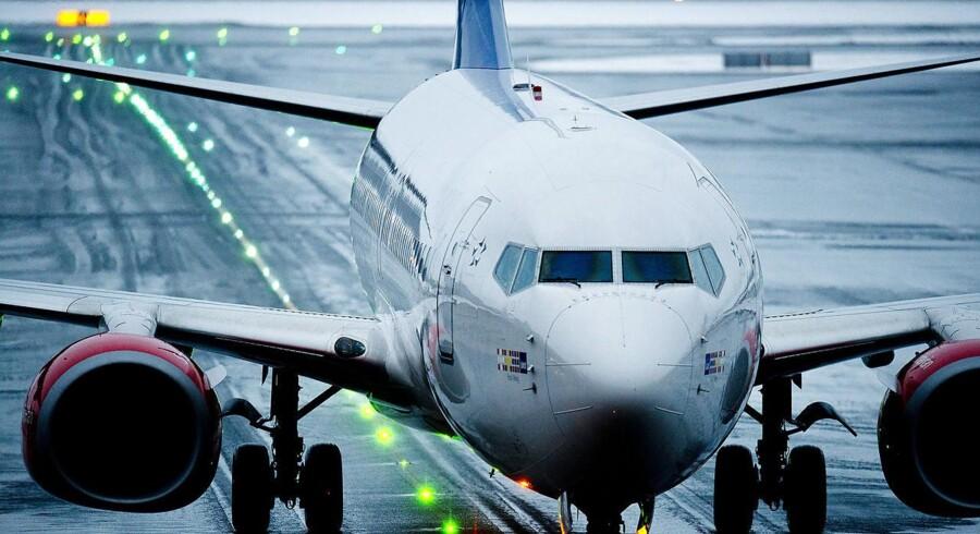 Weekends arbejdsnedlæggelse har resulteret i, at mere end 100 SAS-afgange er blevet aflyst. Foto: Jon Olav Nesvold, Scanpix, arkiv