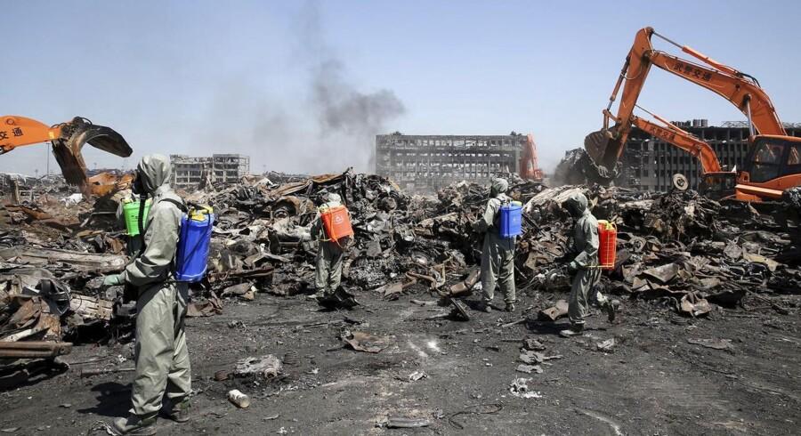 Lørdag skete endnu en eksplosion på en kemikaliefabrik i Kina. Det er kun 10 dage siden en anden eksplosion kostede mindst 121 mennesker livet.