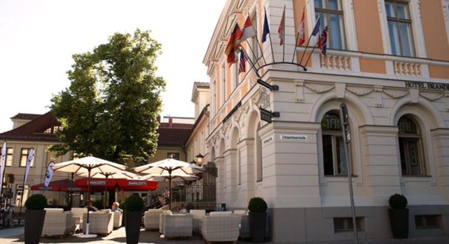 Hotel Brandenburger Tor er et hyggeligt hotel med historisk vingesus.
