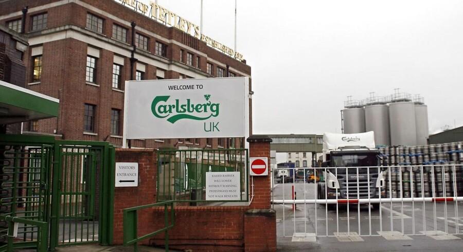 Carlsberg købte Scottish and Newcastle for at få adgang til det russiske marked. Den plan gik ikke som ventet. Arkivfoto.