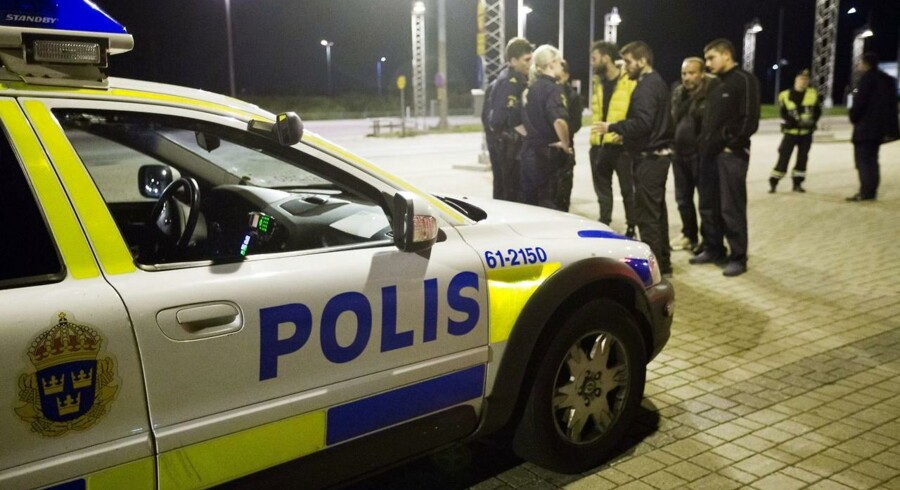 Arkivfoto. Svensk politi. Foto: Andreas Hillergren