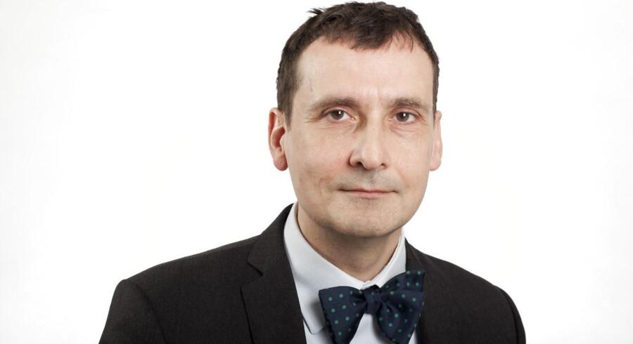 Erhvervsjournalist Uffe Gardel.