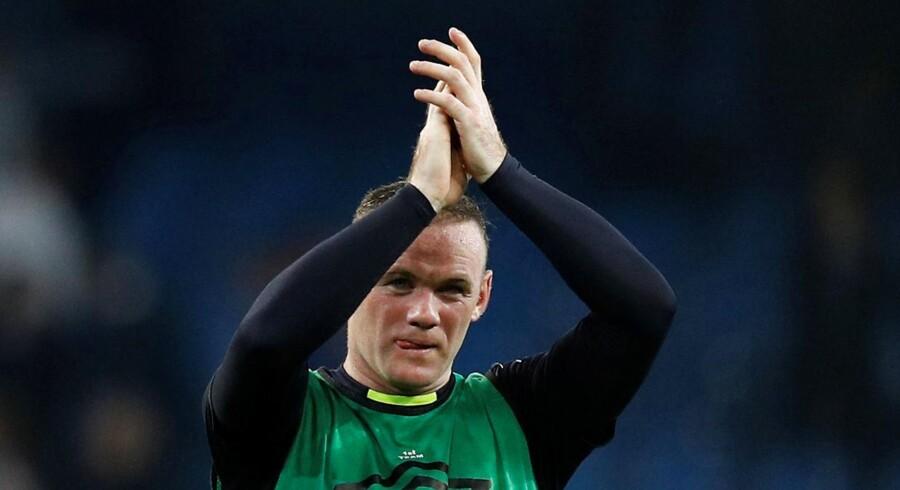 Everton-spilleren Wayne Rooney kommer ikke længere til at optræde på Englands landshold.