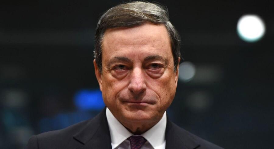 Mario Draghi, præsident i den Europæiske Centralbank (ECB) vil i dag torsdag annoncere, hvad han vil gøre for at redde Europas økonomi.