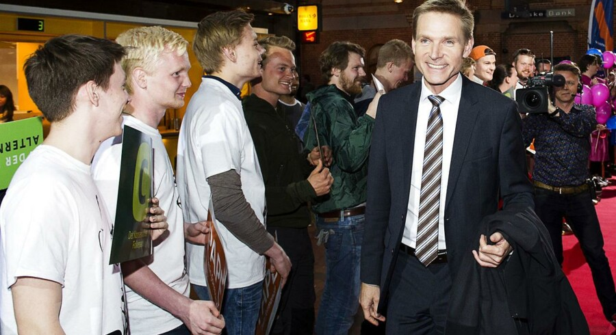 Partiledere mødes på hos TV2 Hovedbanegården. Kristian Thulesen Dahl