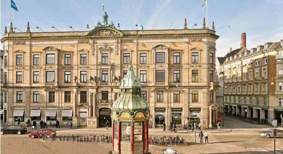 Nordea Liv & Pension vurderer løbende værdien af sine ejendomme - bl.a. denne prominente ejendom på Kgs. Nytorb i København
