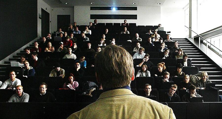 Forelæsning i Informationsvidenskabsteori på Københavns Universitet på Amager.