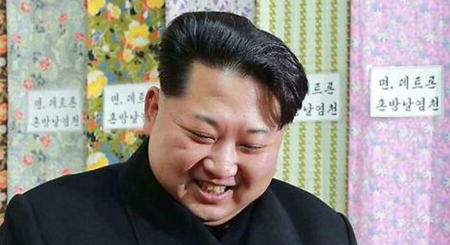 Arkivfoto. Kim Jong-un