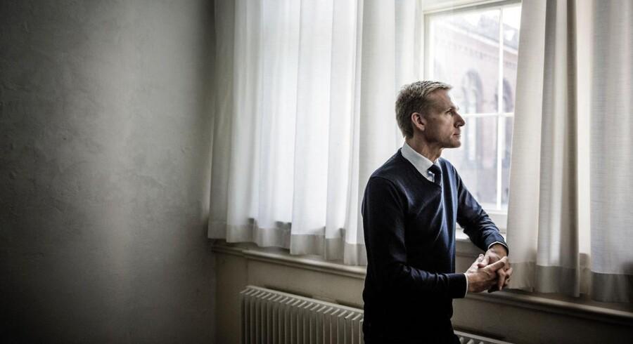 Kristian Thulesen Dahl, formand for Dansk Folkeparti. Sted: Christiansborg.