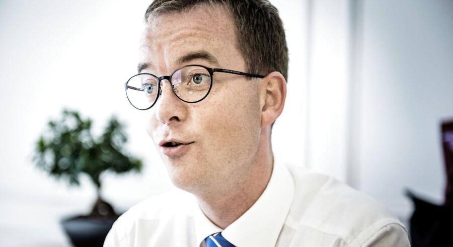 Uddannelses- og forskningsminister Esben Lunde Larsen (V) vil nu hjælpe studerende, der er gået i stå i deres uddannelse.