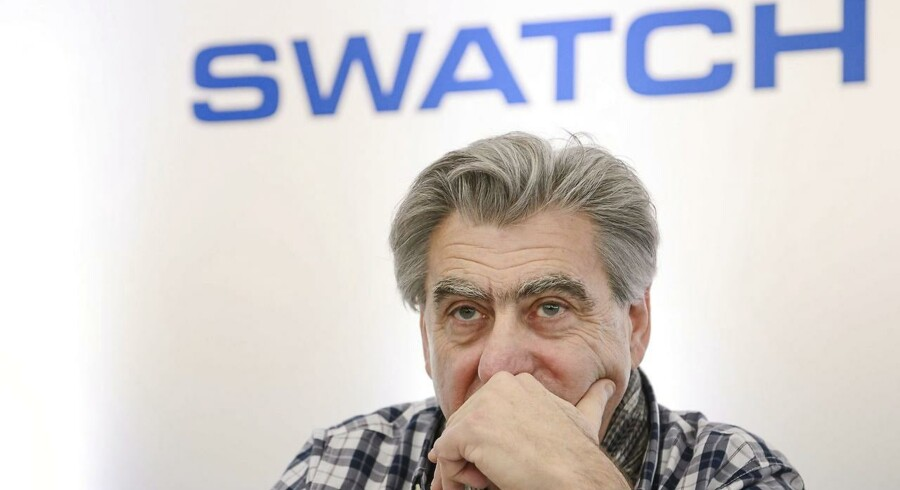 Arkivfoto: Swatch Group CEO, Nick Hayek.