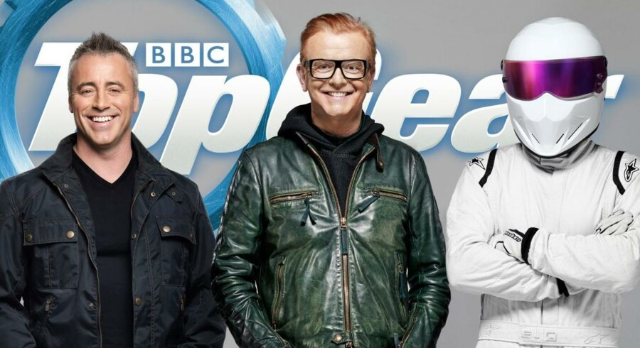 Matt LeBlanc, Chris Evans og The Stig.