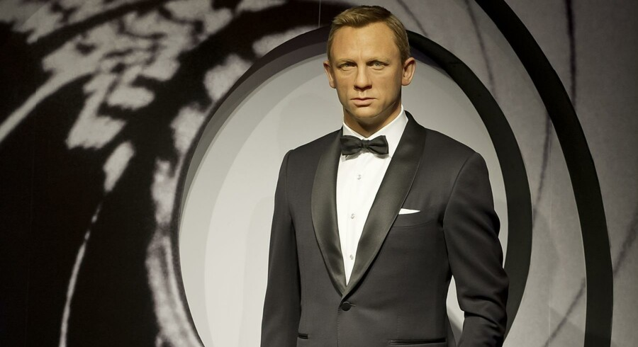Daniel Craig aka. James Bond på Madame Tussauds.