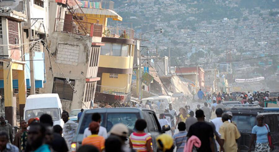 Star Tour og de nordiske søsterselskaber giver en håndsrækning til det jordskælvsramte Haiti.