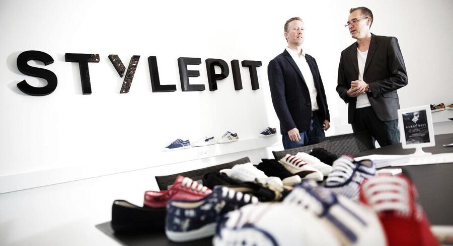 Stylepit-grundlægger Nicolai Kærgaard (th) forlader bestyrelsen.