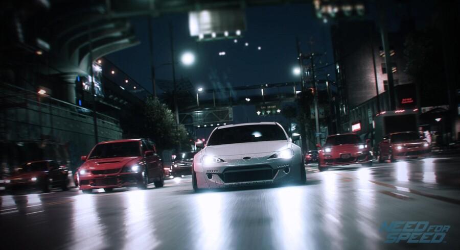 Det visuelle udtryk er »Need for Speed«s stærkeste side.