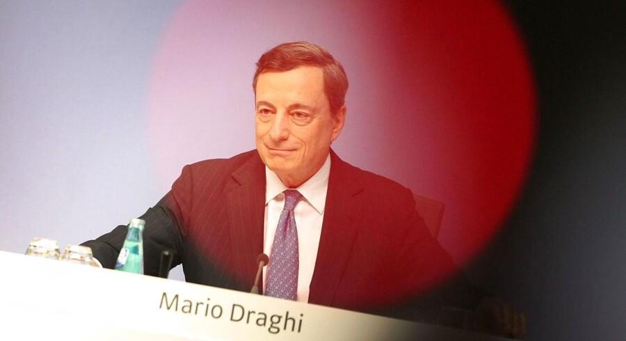 Mario Draghi (født 3. september 1947) er en italiensk økonom og bankmand, der siden den 1. november 2011 har været præsident for Den Europæiske Centralbank.