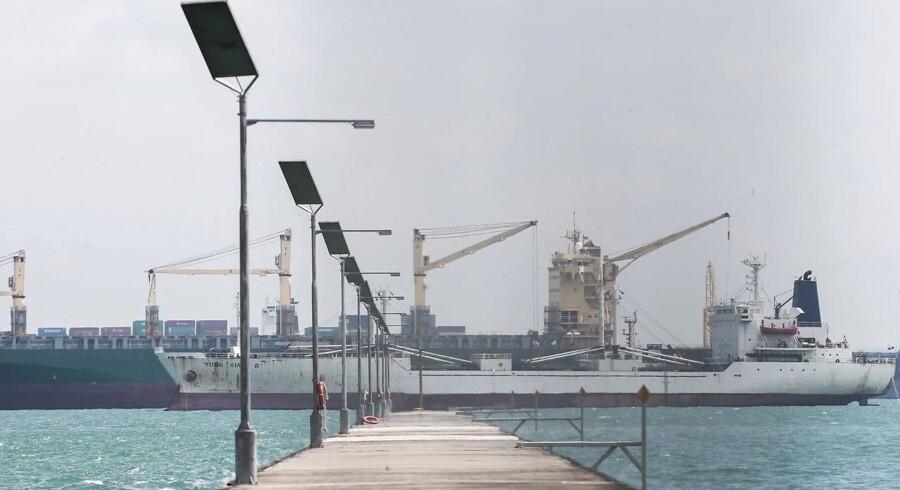 Væskten i flåden ventes mindre end 1 mio. teu. Der ventes leveret ny kapacitet på 1,25 mio. teu og ophugget kapacitet på 325.000 teu.