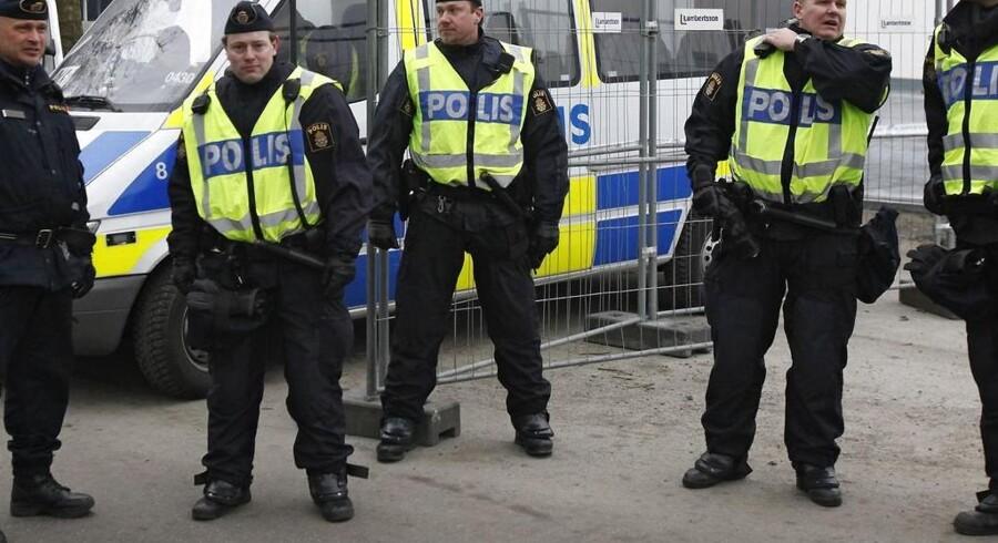 Ifølge Aftonbladet har svensk politi en mistanke om, at branden er påsat. (arkivfoto)
