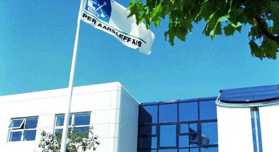 Hansson & Knudsen A/S er blandt de entreprenørselskaber, der lige nu undersøges af konkurrencemyndighederne. ( FOTO: ERIK JEPSEN )
