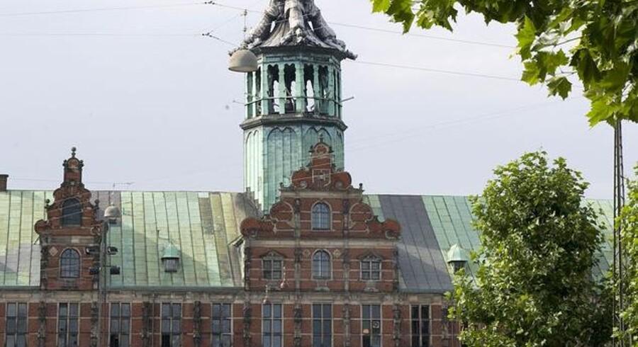 Børsen i København samler på fredag syv toppersoner inden for IT-verdenen. Foto: Keld Navntoft, Scanpix