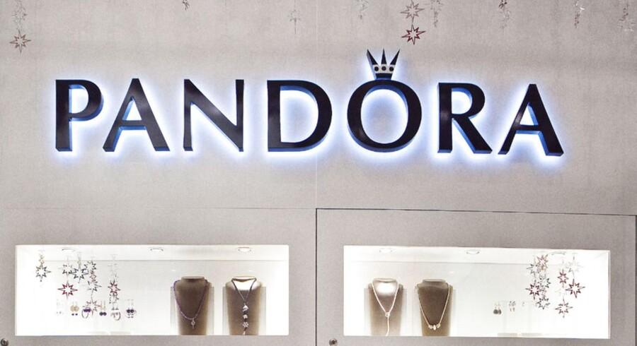 Pandora butikken på Strøget i København.