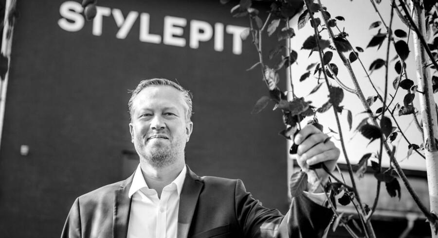 Portræt af direktør i online-tøjbutikken Stylepit, Christian Bjerre Kusk. Fotograferet omkring deres kontor på Laplandsgade.