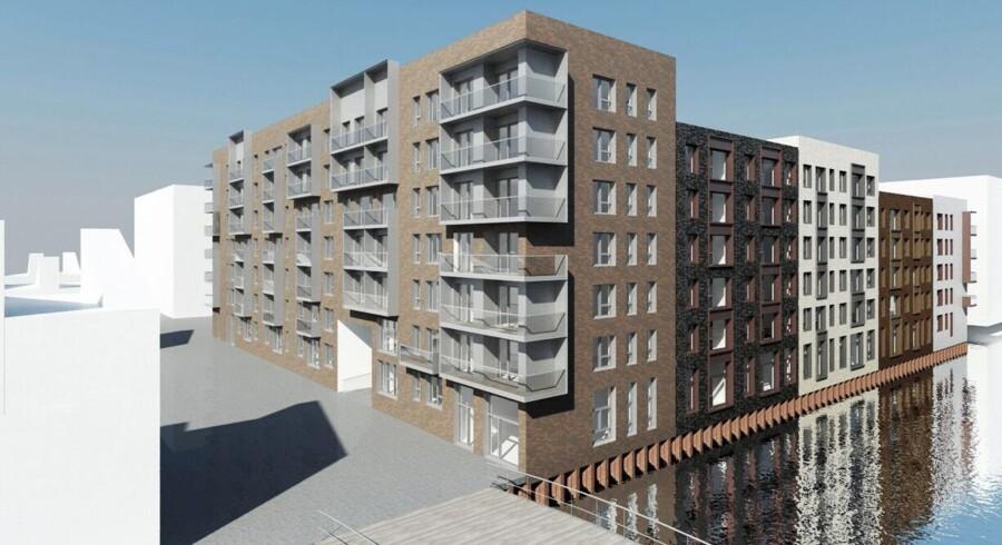 Den tredje ejendomsfond under West Coast Real Estate-navnet vil opkøbe grunde, hvor der især skal udvikles og opføres rækkehuse. I lighed med West Coast Park-lejlighederne på Teglholmen kommer priserne ikke til at ligge på hovedstadens højeste niveauer. Foto: REKA
