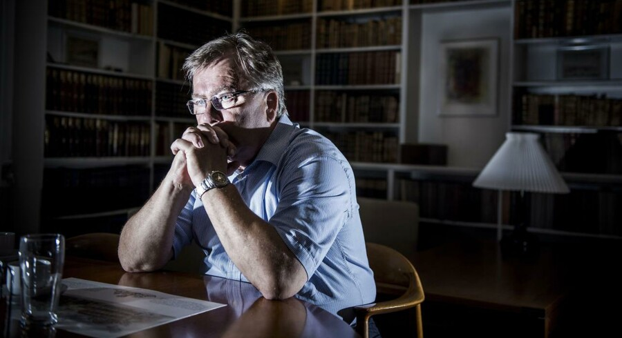 Finansminister Claus Hjort Frederiksen (V) har sammen med resten af regeringen lovet at komme med et forslag til, hvordan pensionsklemmen løses. Arkivfoto.
