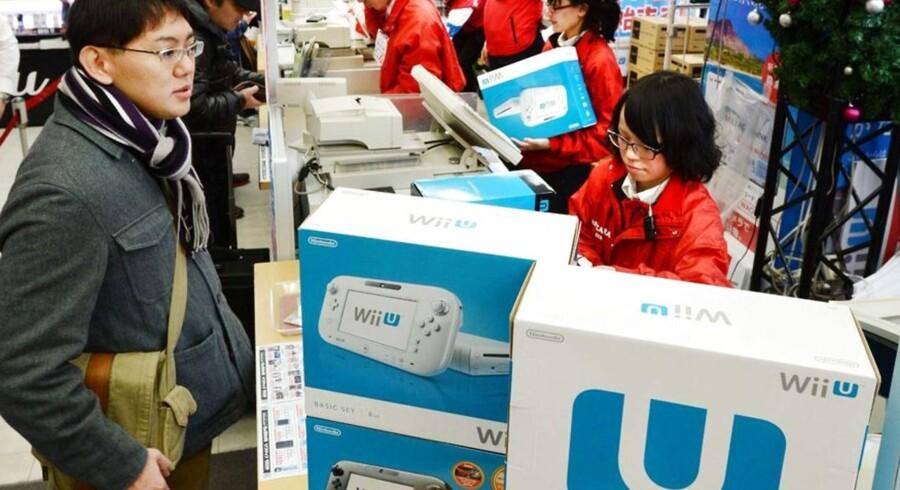 Der har ikke været julekø efter Nintendos Wii U-konsol. Opmærksomheden har været tildelt konkurrenternes nye produkter. Arkivfoto: Toru Yamanaka, AFP/Scanpix
